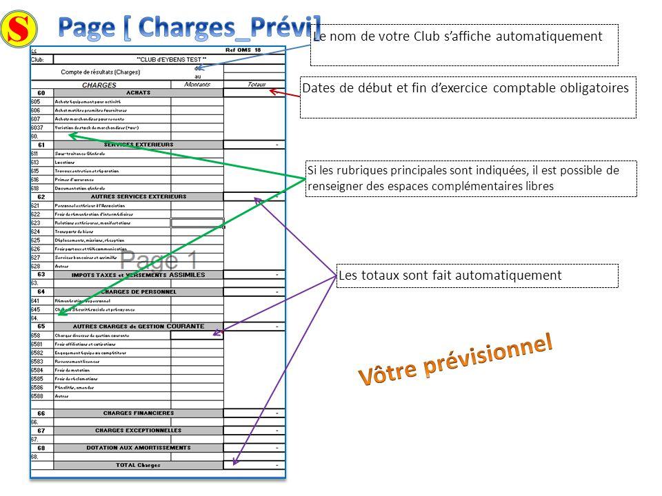 S Page [ Charges_Prévi] Vôtre prévisionnel